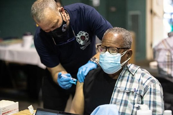 Multnomah County teamed up with the REACH Program, Highland Haven and community partners to vaccinate nearly 400 seniors from the ...