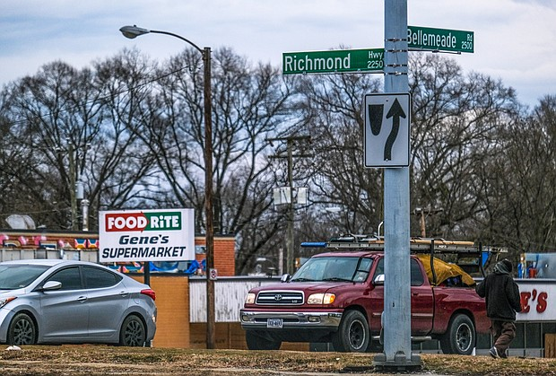 Richmond Department of Public Works crews have been busy since Feb. 25 replacing street signs along U.S. 1 formerly named for Confederate Jefferson Davis with the new name, Richmond Highway. City Council voted last summer to change its name. Officials said it will take about a month to replace about 98 signs. The cost: $45,000.