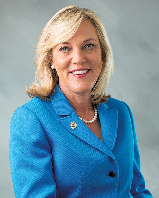 Los Angeles County Supervisor Kathryn Barger wants an increase in..