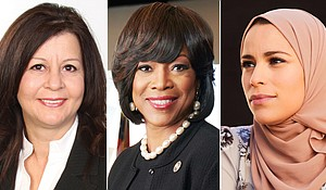 As the US marks Women's History Month, a look at some women making a difference around the globe . Credit:Gloria Aguilera Terry/Morehouse School of Medicine/Abbey Drucker
