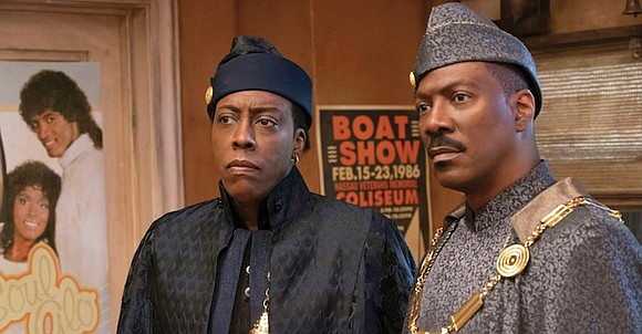 """Nothing wrong with a little nostalgia. But if you're looking for a comedy revelation, """"Coming 2 America"""" isn't it."""