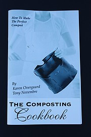 Each composting bin comes with a copy of the composting 'cookbook,' which educates users on how to get the results they want. (Photo courtesy of Resource Recovery and Energy Division)
