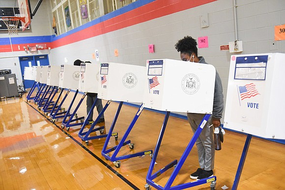 new poll from PIX11News, NewsNation and Emerson College found that 46% of African American voters and 38% of Latino voters ...