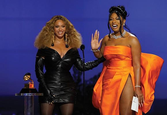 Queen Bey is the Queen of the Grammys now.