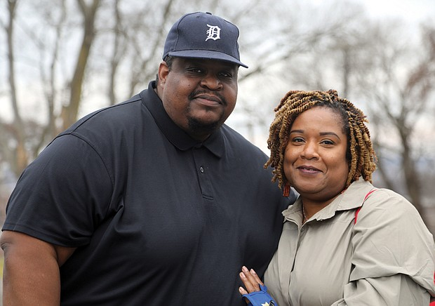 Clifton and Monica Murray both suffered COVID-19 related losses during the past year. Mr. Murray, the assistant principal at Martin Luther King Jr. Middle School, lost his father in April. Dr. Murray, the principal at John Marshall High School, lost her mother in October.