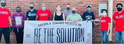 Former Houston City Council Member Amanda Edwards' new 501(c)(3) organization - Be The Solution: Community Empowerment Organization will host the ...