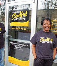 Jamie Turner and her husband Larry welcome customers to Ja'Das Soulful Eatz, their new family owned and operated restaurant next door to the Miracles Club at 4200 N.E. Martin Luther King Blvd. Ja'Das Soulful Eatz also serves the community from a food cart at 7339 N.E. MLK Jr. Blvd.