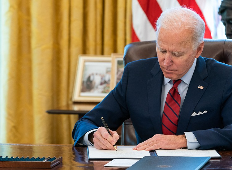 Biden Taps 5 Cabinet Members to Advance Infrastructure Plan