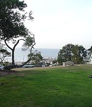 Bruce's Beach in Manhattan Beach, California.