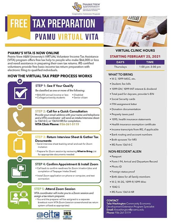 Accounting professors and graduate students enrolled in business accounting courses at Prairie View A&M University's College of Business are once ...