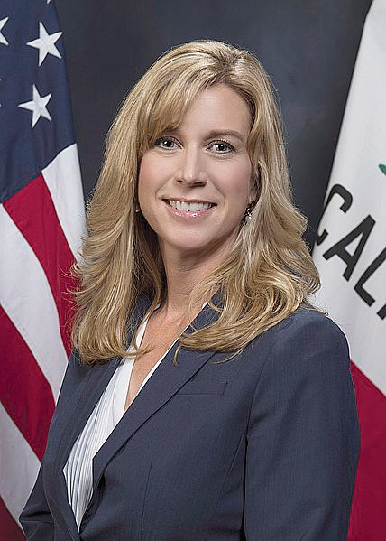 Former Assemblywoman Christy Smith, a Democrat from Santa Clarita..