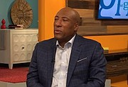 """Byron Allen, head of the Allen Media Group, which owns The Weather Channel, said GM was trying to """"divide"""" Black-owned media executives."""