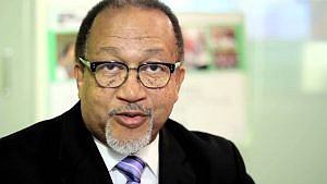 Benjamin Chavis, CEO and president of the National Newspaper Publishers Association, a trade group for Black media, also wanted to meet with Barra.