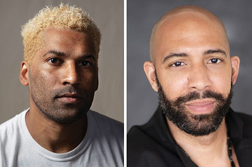 """Chip Miller (left) directs and Damien Geter curates the compositions for """"Journey to Justice,"""" a virtual production of art, song, opera and short pieces taken through the eyes and experiences of being African American."""