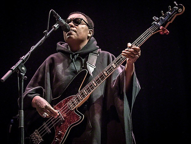 Meshell Ndegeòcello at the main stage of Cosmopolite, October 2016 in Oslo