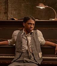 "Chadwick Boseman as Levee in ""Ma Rainey's Black Bottom"""