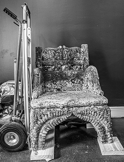 It started with the March theft of an ornate stone chair dedicated to Confederate President Jefferson Davis that has been ...