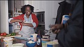 """Actress Nicci Carr, who grew up in Richmond, stars in the hit GEICO commercial """"Scoop There It Is"""" with Tag Team, the old school hip-hop duo."""
