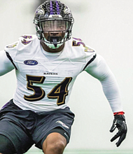 Tyus Bowser signed a four-year, $22-million contract with the Ravens last month after he finished last season with 34 tackles, two sacks and a career high three interceptions go along with 14 QB hits.