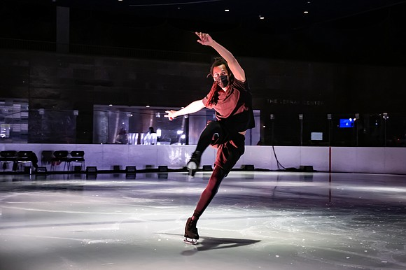 """For one week only (April 6-11), the Canadian-based, contemporary ice-skating company Le Patin Libre (French for """"Free Skate"""") makes their ..."""
