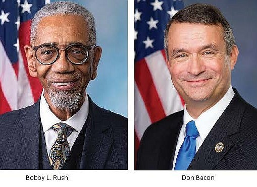 U.S. Representatives Bobby L. Rush (D-Ill.) and Don Bacon (R-Neb.) introduced H.R. 2252, legislation that would award a Congressional Gold ...