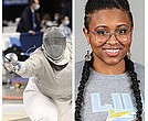 LIU freshman sabre fencer Chejsa-Kaili Seck received All-America honors