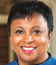 Dr. Carla Hayden, Shine the Light Special Guest, 14th Librarian of Con- gress. She says she is proud to live in a city with a fine school such as West- ern developing young women leaders.
