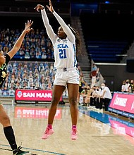 Chosen at No. 6 overall, Michaela Onyenwere was the New York Liberty's top draft pick.