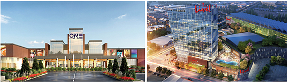 Just two contenders are left in the competition to build a casino-resort in Richmond, and one already has corralled the ...