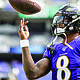 Baltimore Ravens quarterback Lamar Jackson is one of the NFL's top athletes. He was only 23 years old when he was named the NFL MVP after the 2019 season.