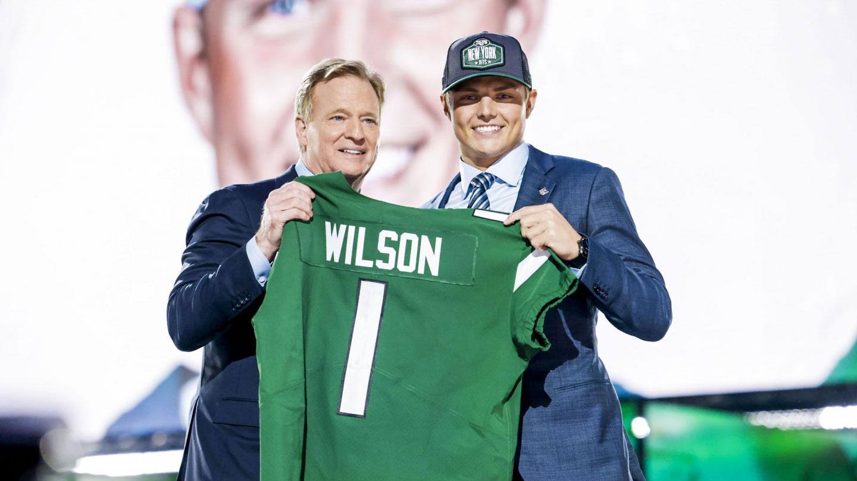 The Jets' Zach Wilson era has officially begun