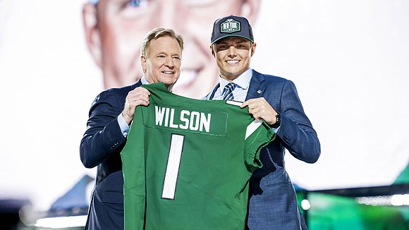 With the second pick in this year's NFL Draft, held last week in Cleveland, Ohio, in front of an estimated ...