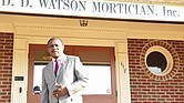 D.D. Watson Jr. of D.D. Watson Mortician Inc. in Louisa County.