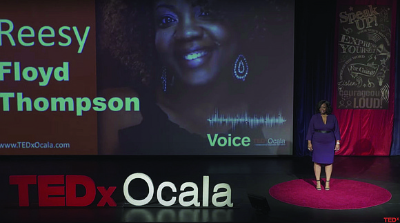 Norfolk native, Shereese Floyd-Thompson, founder and chief storytelling officer for the Witness My Life Movement, has won a 2021 Cicero ...