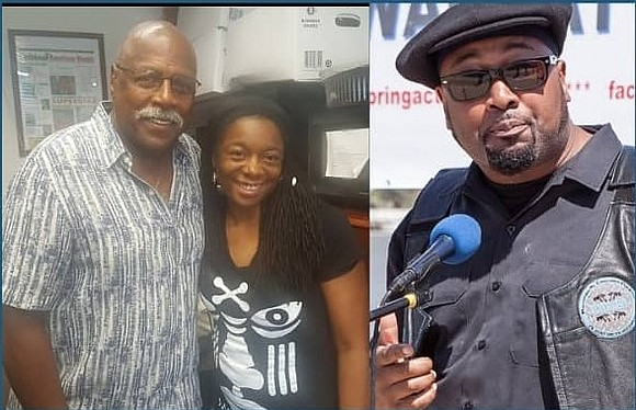 "AmNews Editor Nayaba Arinde interviewed activist Omowale Clay and Fred Hampton Jr. on her radio show ""BACK TO BASICS"" on ..."