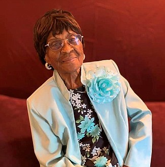 Elizabeth Mosley of Portland will be celebrating her 102th birthday on May 25!