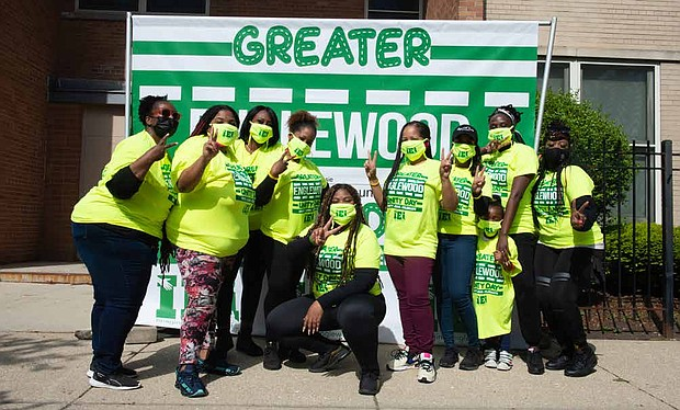 Imagine Englewood If … hosted its eighth annual Greater Englewood Unity Day. The day is a time for the community and its stakeholders to gather and beautify the neighborhood. Photos by Rena Naltsas
