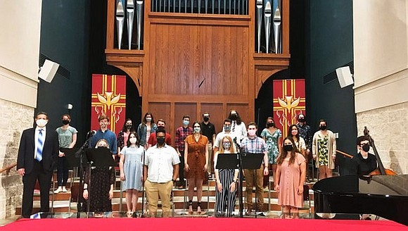On Pentecost Sunday, some members of Southwood Lutheran Church in Lincoln, Neb., sang hymns without masks for the first time ...