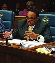 Cook County Commissioner Stanley Moore wants the Cook County Board to hold off on a vote to rename Columbus Day Indigenous Peoples' Day until the Five Tribes acknowledge their part in the enslavement of Africans and denial of those descendants of Freedmen membership to tribes. Photo provided by Stanley Moore