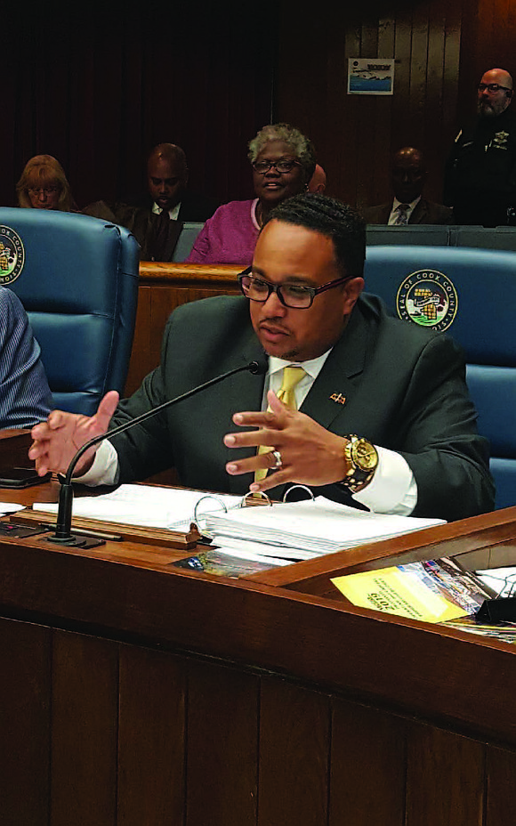 Cook County Commissioner Stanley Moore wants the Cook County Board to delay the vote before changing the name of Columbus ...
