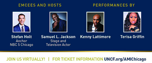 """The annual Chicago UNCF """"A Mind Is..."""" Gala is moving online this year and is set for Saturday, June 19, ..."""