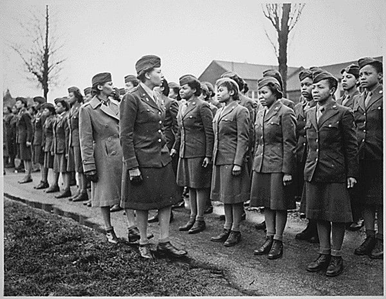 Captain Abbie Noel Campbell, among the first Black Women officers in the WAC