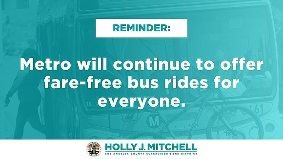 Free public transportation for all. It is a concept rooted in equity...
