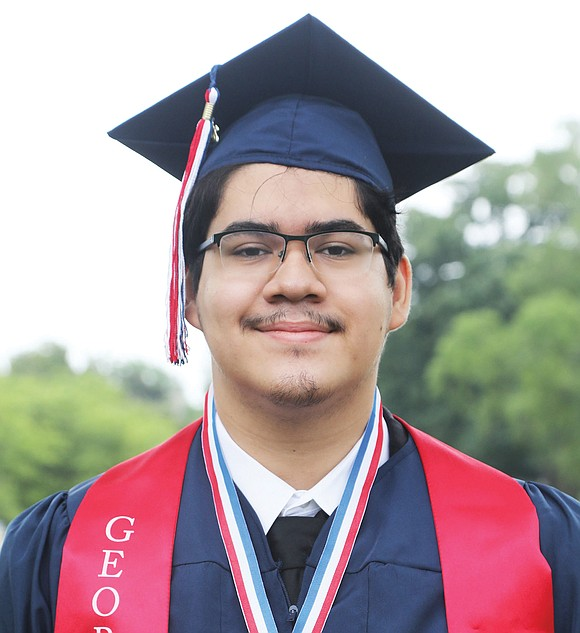 Harold Aquino-Guzman has a lot to celebrate this month. The George Wythe High School senior class president is not only ...
