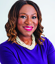 Sherina Maye Edwards, President and CEO of INTREN, is helping the company navigating its acquisition by MasTec. Photo provided by Sherina Maye Edwards