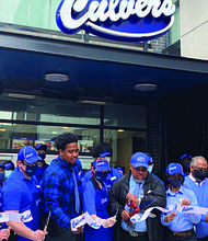 Baron Waller is the owner of five Chicagoland area Culver's restaurants. He recently opened a location in Ravenswood and is set to open another in Pullman. Photo provided by Brian Berg