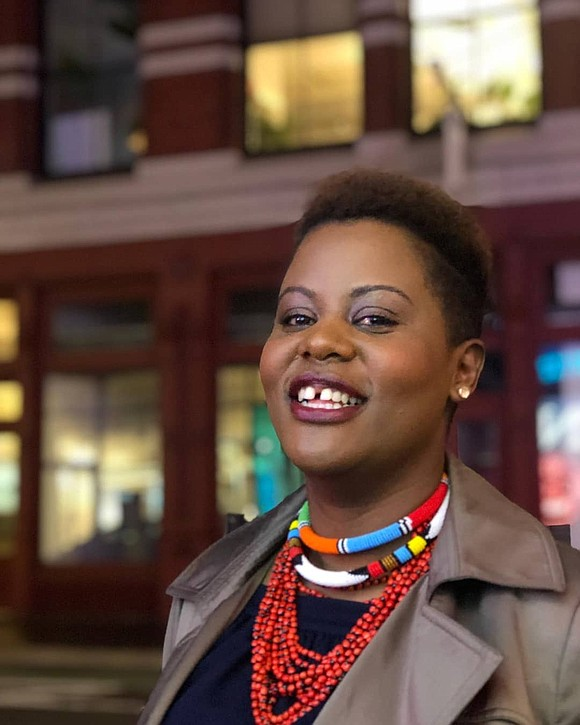 Consolee Nishimwe, 41, lives in New York City and devotes much of her time to advocating for women's rights as ...