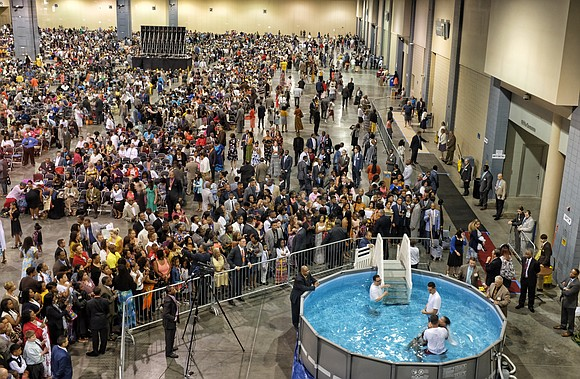 For the second consecutive year, the Jehovah's Witnesses have canceled their large, in-person annual three-day conventions in Richmond and around ...