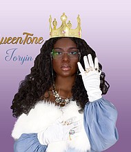 """""""QueenTone"""" is a song, written by Joryin Pender to inspire Black women and girls to love their complexion and serve as representation in the media for dark skin women."""