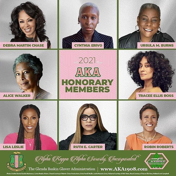 Alpha Kappa Alpha Sorority, Inc.® welcomed in eight new members with a big announcement on Good Morning America. Broadcast anchor ...